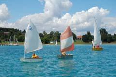 Segelschule-Bootssteg
